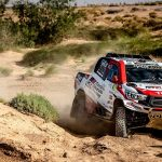 TOYOTA GAZOO RACING SA'S AL ATTIYAH/BAUMEL REMAIN ON COURSE IN MOROCCO, DISAPPOINTMENT FOR DE VILLIERS/WINOCQ
