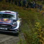 Ogier renews WRC title hopes with win in Wales