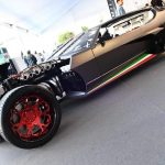 French custom shop built a sinister Lamborghini Espada hot-rod