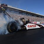 Torrence wins NHRA Vegas, first Top Fuel championship