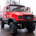 MAZ presented a new truck for the Dakar rally