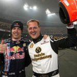 F1: SEBASTIAN VETTEL MISSES HIS MENTOR MICHAEL SCHUMACHER