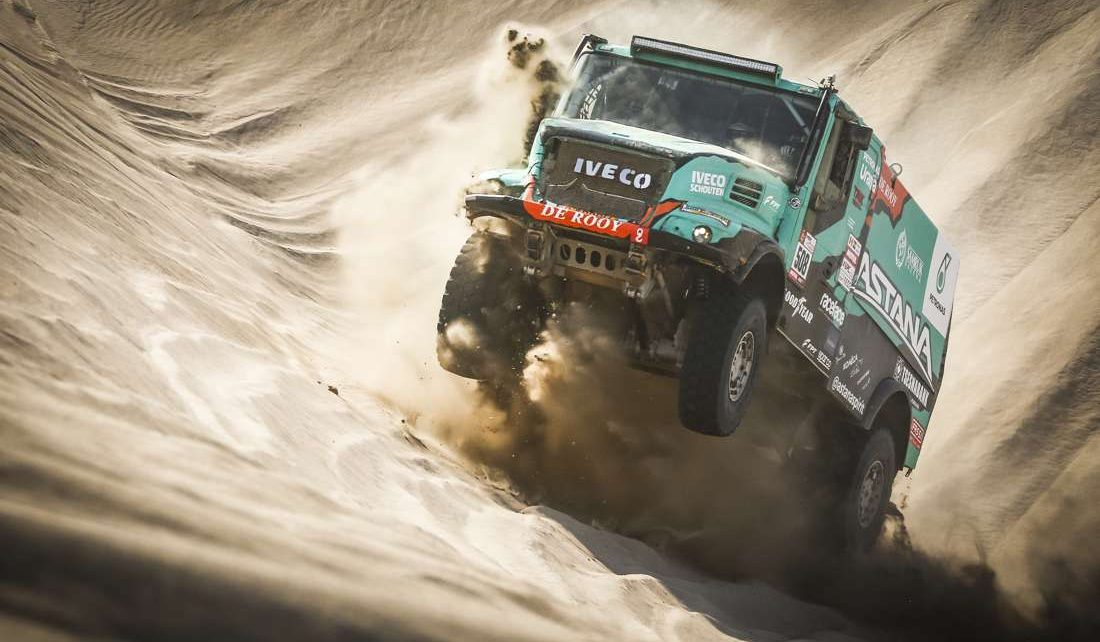 dakar  trucks race kamaz  besieged fortress rallystar