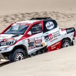 TOYOTA GAZOO RACING SA'S AL ATTIYAH / BAUMEL TAKES THE LEAD IN PERU