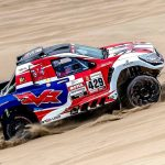 Peugeot to the fore, but Giniel leads overall