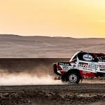 EXCELLENT PERFORMANCE ON STAGE 2 SEES TOYOTA GAZOO RACING SA'S DE VILLIERS/VON ZITZEWITZ TAKE THE LEAD OF DAKAR 2019