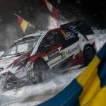 Rally Sweden : SS2: TÄNAK CHARGES INTO LEAD