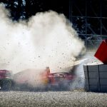 Ferrari identifies cause of Vettel crash