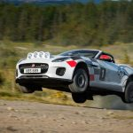 Jaguar Turned the F-Type Into a Jumping Rally Car
