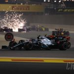 Lewis Hamilton wins Bahrain thriller as reliability robs Charles Leclerc