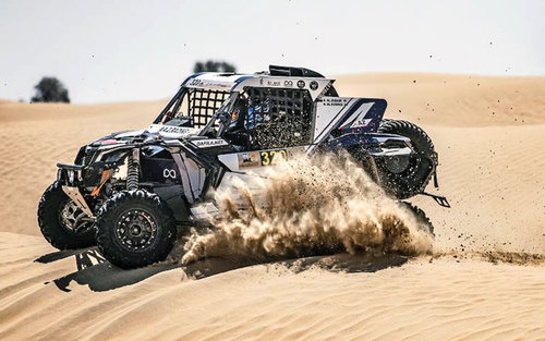 FIA WORLD CUP FOR CROSS COUNTRY BAJA: MECHANICAL WOES HIT ZUBAIR