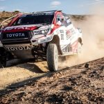 Alonso tests Toyota Dakar Rally winner