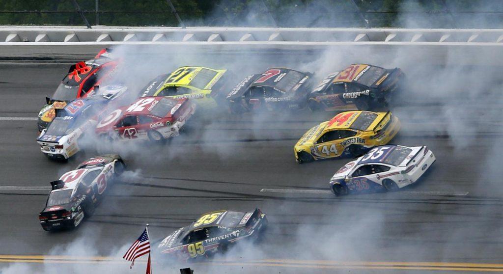How Those Big Wrecks Could Keep Delivering Fans To NASCAR