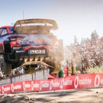 DANI SORDO SNATCHED THE EARLY LEAD OF VODAFONE RALLY DE PORTUGAL ON FRIDAY MORNING AFTER WINNING A HOT AND DUSTY OPENING SPEED TEST IN LOUSÃ.