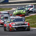 Tough task for the Volkswagen drivers at the   Slovakia Ring