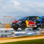 Timmy Hansen grabs the spoils World RX of Great Britain finale