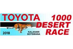 Toyota Of The Desert >> Toyota Kalahari Botswana 1000 Desert Race 2019 Bto To Announce