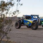 Subaru Crosstrek Desert Racer suits up in blue and gold