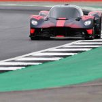 Aston Martin Valkyrie hypercar makes public debut at Silverstone Grand Prix