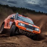 Exciting navigation and high speed in the Rallye Breslau Poland