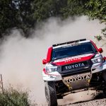 THREE CONSECUTIVE SILK WAY RALLY STAGE WINS FOR TOYOTA GAZOO RACING SA'S AL ATTIYAH/BAUMEL