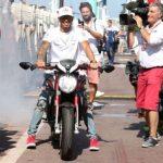 Hamilton accepts MotoGP star Marquez's challenge for head-to-head battle