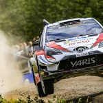 FRIDAY IN FINLAND:LATVALA EDGES INTO NARROW LEAD