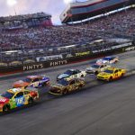 Kyle Busch makes the most of a tough night at Bristol