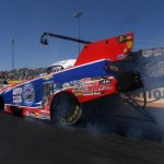 Robert Hight wheels his Chevy Camaro to 50th Funny Car win at NHRA Sonoma Nationals