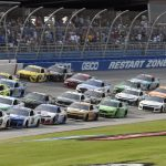 How NASCAR's banked turns help carsgo faster