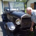Canadian man still driving his Ford Model T after 70 years