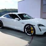 Porsche premieres electric Taycan