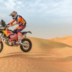 Strong opening stage for KTM riders at Atacama Rally