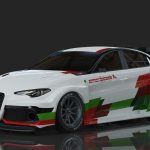 Romeo Ferraris launch Alfa Romeo Giulia ETCR project