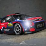 WRC action for the Citroen C3 R5 in 2020