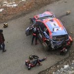 Ott Tanak and co-driver OK after huge Monte-Carlo crash