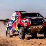 STAGE 5 OF DAKAR 2020 SEES TOYOTA GAZOO RACING HOLD STEADY