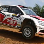 MRF new partner and tyre suppier to South African Rally Championship