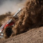 Ogier tames slippery Friday roads to impress at Rally Mexico