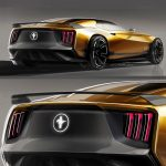 Modern Ford Mustang Mach 1 Shows Retro-Futuristic Vibes