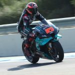 Quartararo flashes to Andalucian GP pole, Marquez pulls out of qualifying