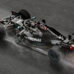 Hamilton slick in slippery Styrian GP qualifying