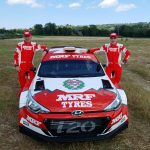Team MRF Tyres reveal 2020 colours – Breen to rally with MRF Tyres in the company's first ERC campaign