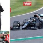 Hamilton survives late tyre puncture to claim seventh British GP win