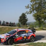 Tänak comes in second after teammate Thierry Neuville at Rally di Alba