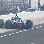 Alonso unhurt in Indy crash
