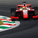 Schumacher hauls himself into title contention with first win of 2020 in Monza Feature Race, ahead of Ghiotto