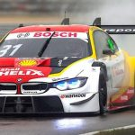 Sheldon van der Linde claims his maiden DTM victory in restarted Assen race