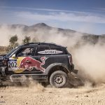 Andalucia rally: Benavides and Al Attiyah looking good for today