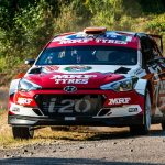 HUNGARY BEHIND BREEN AS TEAM MRF TYRES' DRIVER TARGETS STRONG ERC FINALE –